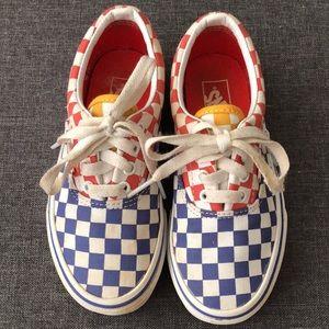 Checkerboard Tri-Color Old Skool Vans